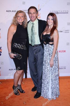 Doug Flutie, Laurie Fortier and Alexa Flutie