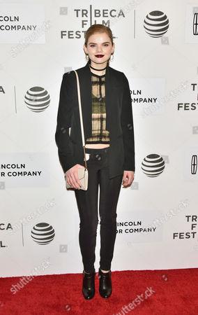 Editorial picture of 'All We Had' film premiere, Tribeca Film Festival, New York, America - 15 Apr 2016