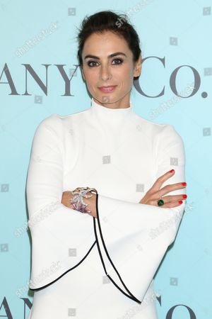 Stock Picture of Francesca Amfitheatrof, Tiffany and Co. Design Director
