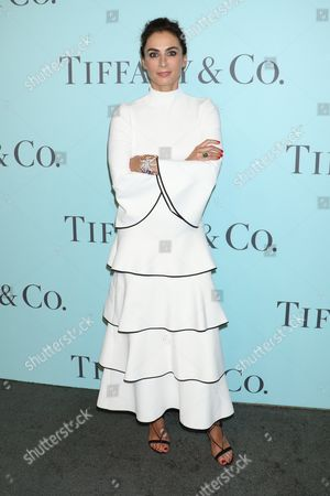 Editorial picture of Tiffany Blue Book dinner, New York, America - 15 Apr 2016