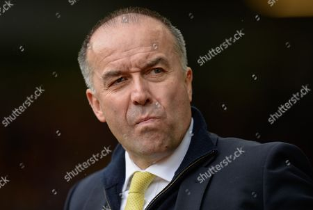 Norwich City CEO David McNally during the Barclays Premier League match between Norwich City and Sunderland played at Carrow Road, Norwich on April 16th 2016