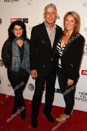 Lydia Tenaglia, Anthony Bourdain, Brooke Baldwin