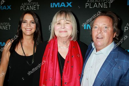 Peggy Gelfond, Toni Myers and Richard Gelfond