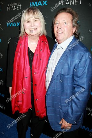 Toni Myers and Richard Gelfond (CEO IMAX Corporation),Peggy Gelf