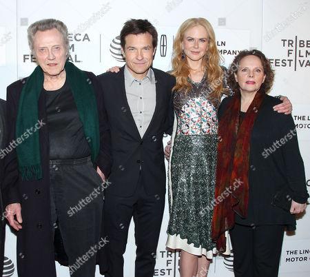 Christopher Walken, Jason Bateman, Nicole Kidman and Maryann Plunkett