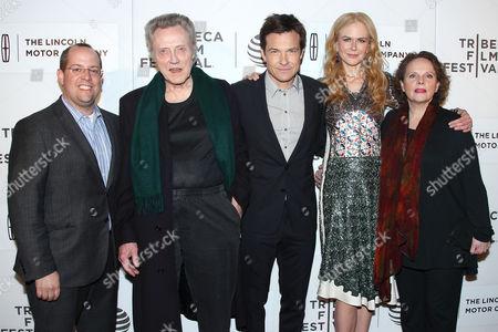 Producer, Christopher Walken, Jason Bateman, Nicole Kidman and Maryann Plunkett