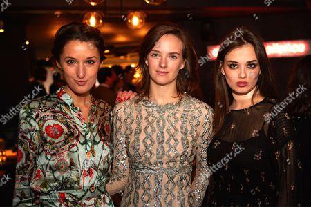 Rosanna Falconer, Charlotte Carroll, Elif Aksu