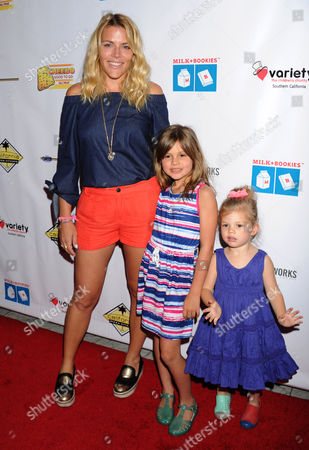 Busy Philipps with daughters Birdie Leigh Silverstein and Cricket Pearl Silverstein