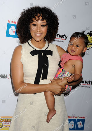 Tamera Mowry-Housley and daughter Ariah Talea Housley