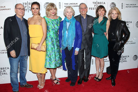 James Lapine (Director) with cast and producers