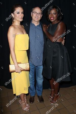 Catalina Sandino Moreno, James Lapine (Director) and Viola Davis