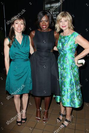 Katie Mustard (Producer), Viola Davis and Lauren Versel (Produce