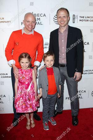 Chad Gilkison, Olivia Gilkison Parrish, Scott Parrish and Lucas Gilkison-Parrish