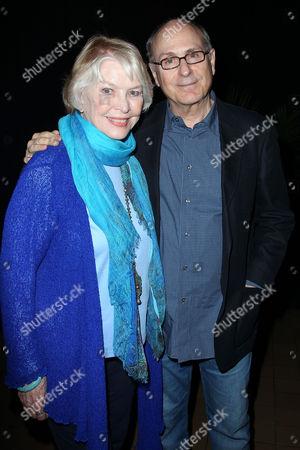 Ellen Burstyn and James Lapine (Director)