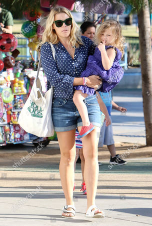 Stock Image of Busy Philipps and Cricket Pearl Silverstein