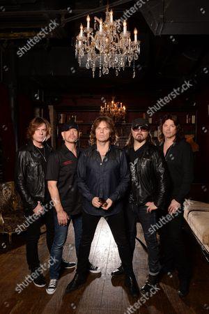 John Leven, Joey Tempest, Mic Michael, John Norum Ian Haugland,