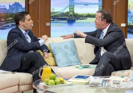 Dr Evan Harris and Piers Morgan