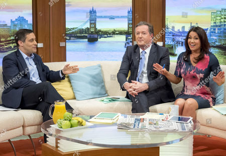 Dr Evan Harris with Piers Morgan and Susanna Reid