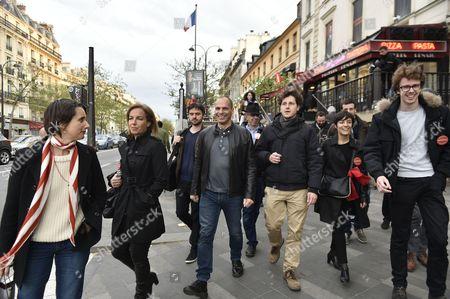Danae Stratou, Yanis Varoufakis, Julien Bayou