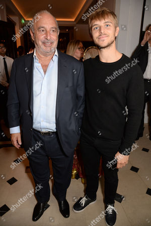 Stock Picture of Sir Philip Green and Brandon Green