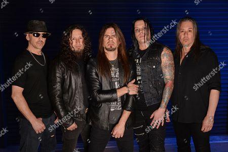 Scott Rockenfield, Michael Wilton, Todd La Torre, Parker Lundgren, Eddie Jackson