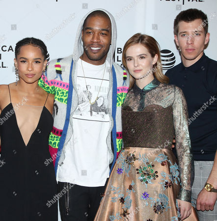 Editorial image of 'Vincent N Roxxy' film premiere, Tribeca Film Festival, New York, America - 18 Apr 2016