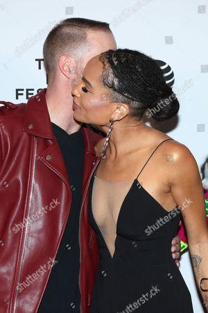 Editorial photo of 'Vincent N Roxxy' film premiere, Tribeca Film Festival, New York, America - 18 Apr 2016