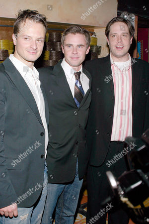 Chandler Williams, Sam Trammell and Zack Orth