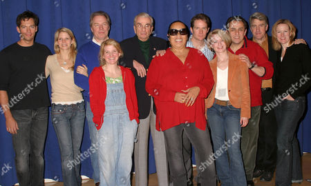 Editorial image of 'THE PAJAMA GAME' PLAY CAST INTRODUCTION, THE DUKE REHEARSAL STUDIOS, NEW YORK, AMERICA - 07 DEC 2005