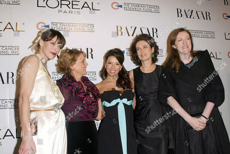 Milla Jovovich, Carol Hamilton and Eva Longoria