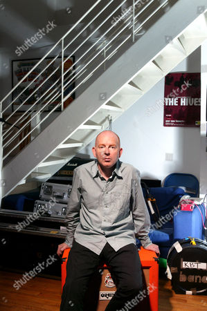 Alan McGee at Creation Records HQ