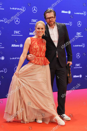 Stock Picture of Kathi Worndl and Jens Tiedemann