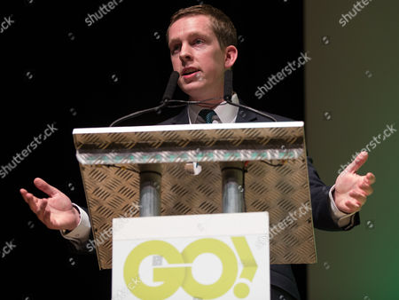 Editorial picture of Grassroots Out pro Brexit campaign rally, Victoria Hall, Stoke, Britain - 18 Apr 2016