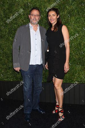 Jean Reno and wife Zofia Borucka