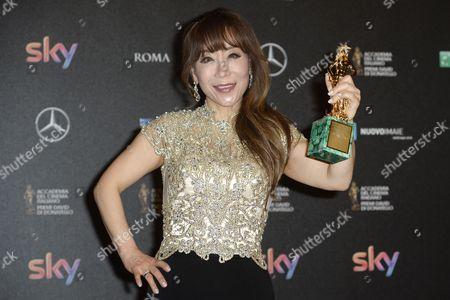 Editorial photo of David Di Donatello Awards Ceremony, Rome, Italy - 18 Apr 2016