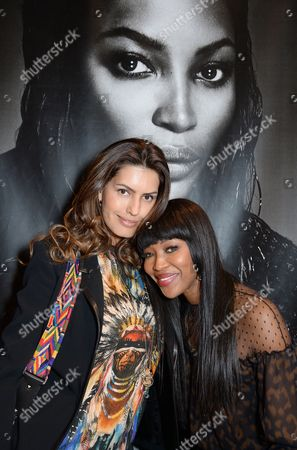 Brenda Costa and Naomi Campbell