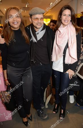 Stock Photo of Valerie Morris, Gerry DeVeaux and Christina Estrada