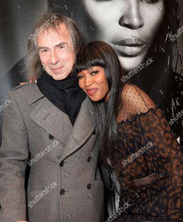 Ivor Braka and Naomi Campbell