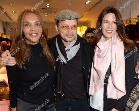 Valerie Morris, Gerry DeVeaux and Christina Estrada
