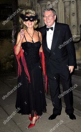Sue Nicholls and husband Mark Eden