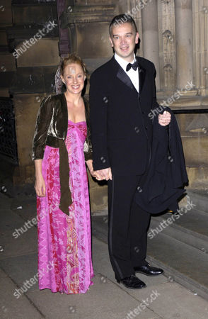 Stock Image of Sally Whittaker and husband Tim Dynevor