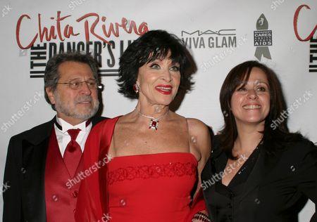 Tony Mordente, Chita Rivera, Lisa Mordente