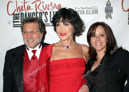 Tony Mordente, Chita Rivera and Lisa Mordente