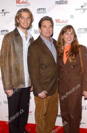 Dylan Bridges, Beau Bridges and Wendy Bridges