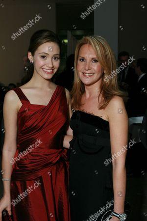 Emmy Rossum and Marla Sabo