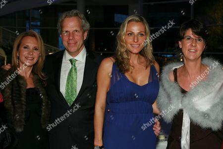 Stock Picture of Marla Sabo, Steve Tisch, Jamie Tisch and Valerie Lachaux