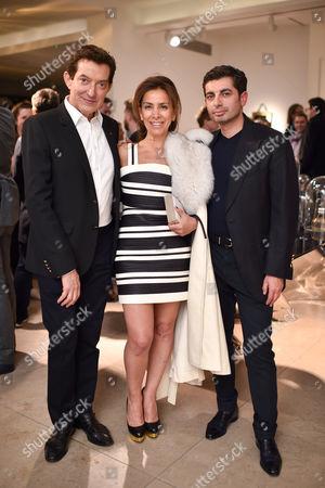 David Gill, Karen Ruimy and Francis Sultana