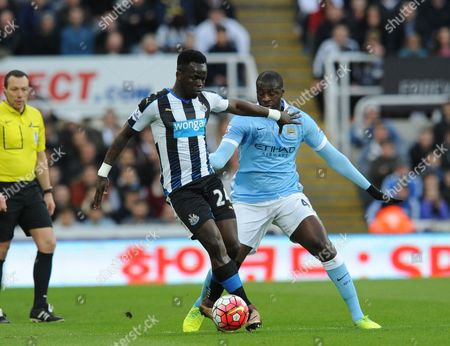 Editorial image of Barclays Premier League 2015/16 Newcastle United v Manchester City St. James' Park, Barrack Rd, Newcastle upon Tyne, United Kingdom - 19 Apr 2016