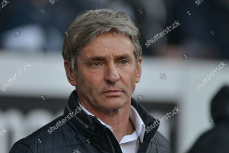 Charlton Manager Jose Riga ahead of the Sky Bet Championship match between Bolton Wanderers and Charlton Athletic at the Macron Stadium, Bolton