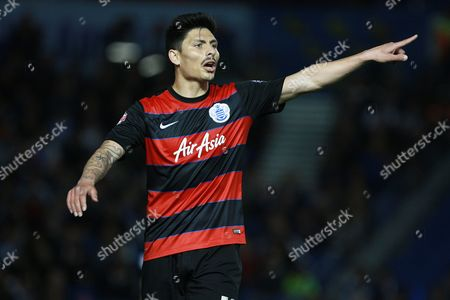 Queens Park Rangers midfielder Alejandro Faurlin during the Sky Bet Championship match between Brighton and Hove Albion and Queens Park Rangers at the American Express Community Stadium, Brighton and Hove